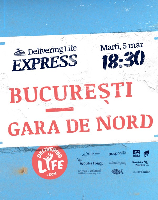 Delivering Life EXPRESS – destinatia ta secreta