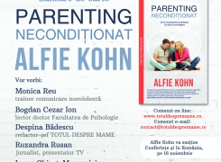 "Delivering Life la lansarea cartii ""Parenting neconditionat"""